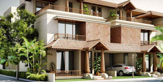 4-BHK Indian Traditional Villas
